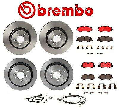 Set of 2 Brembo Rear Brake Rotors for Land Rover 09.8876.31