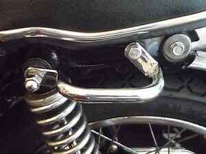 Ambitieux Nouveau: Honda Cb 250 K Cb 350 K Poignée Aufbockgriff Chrome Poignée Poignée Latérale-afficher Le Titre D'origine