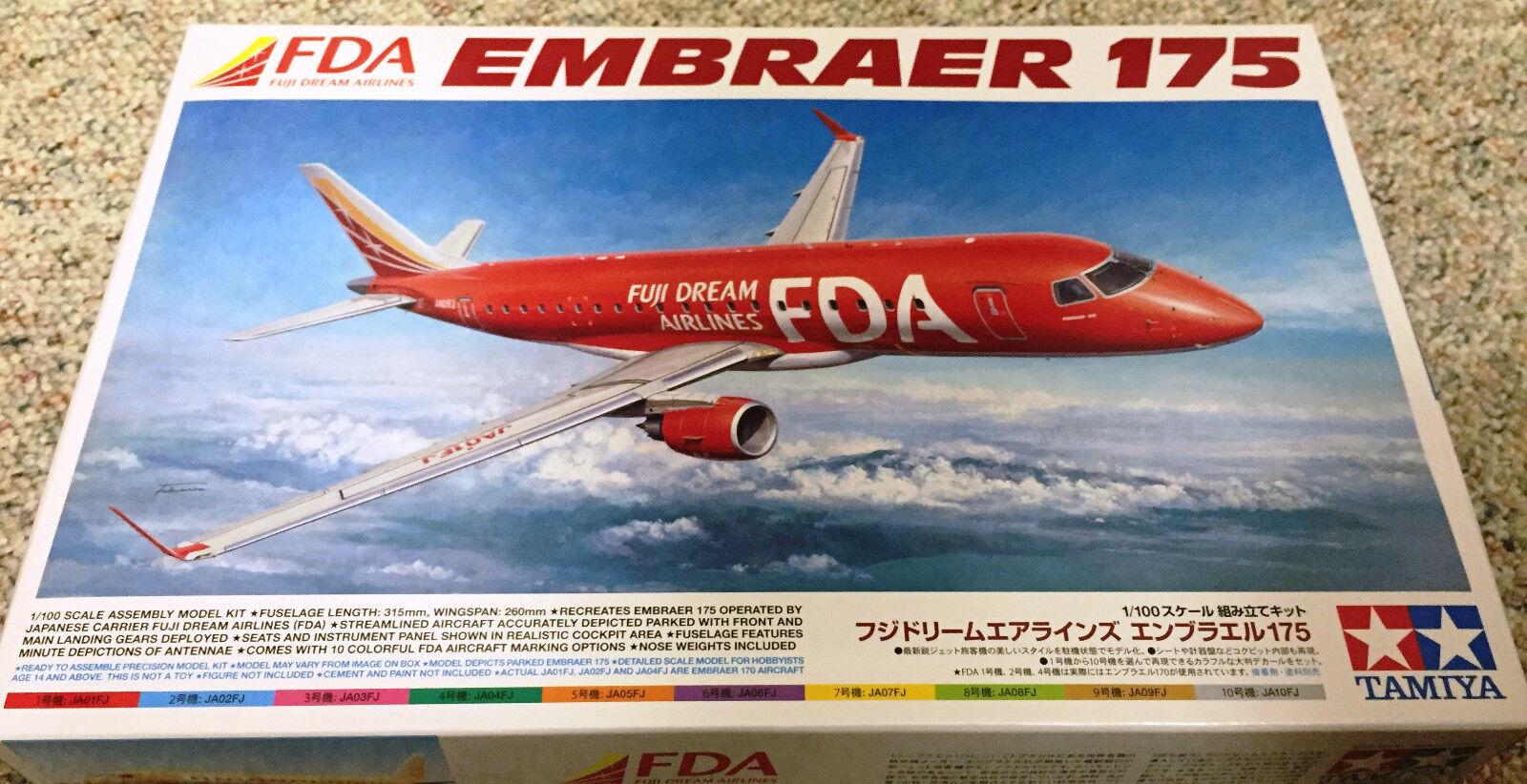 Tamiya 1 100 Embraer 175 Fuji Dream Airlines