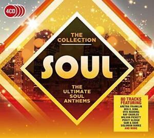 Soul-la-Collection-2017-80-track-4-CD-Neuf-Scelle-Aretha-Franklin