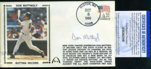 Don-Mattingly-PSA-DNA-Coa-Autograph-Hand-Signed-1986-FDC-Cache