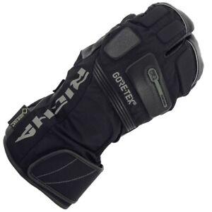 New Richa Nordic 3 Finger Gore Tex Waterproof Leather Motorcycle Gloves Ebay
