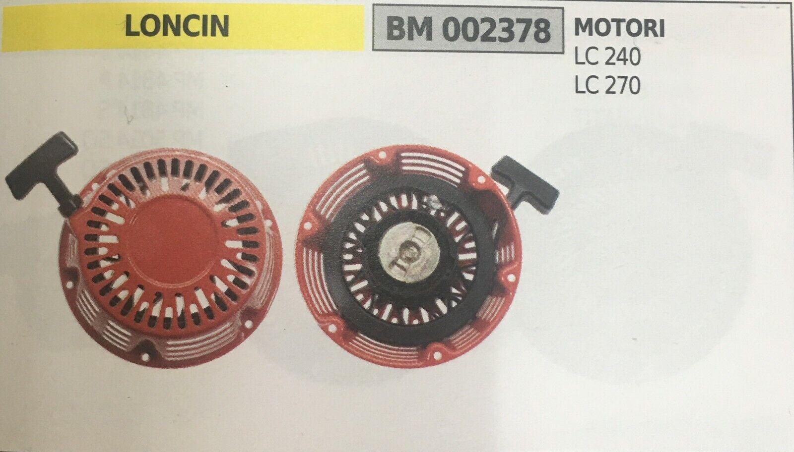 AVVIAMENTO COMPLETO BRUMAR LONCIN BM002378
