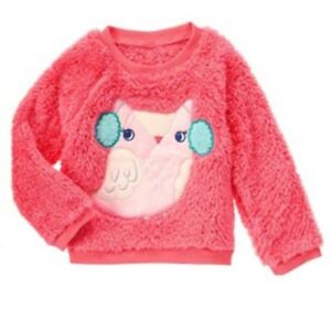 Gymboree Girl/'s Cozy Soft Sweater Pink Coral NWT!
