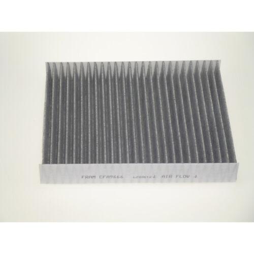 Filtro Aire Interior De Cabina Polen Carbón Activado servicio-Fram CFA9666