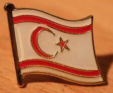 TURKISH REPUBLIC OF NORTHERN CYPRUS Flag Metal Lapel Pin Badge North