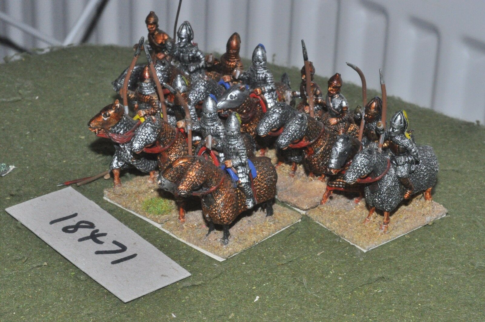 25mm roman era   parthian - cataphracts 12 cavalry - cav (18471)