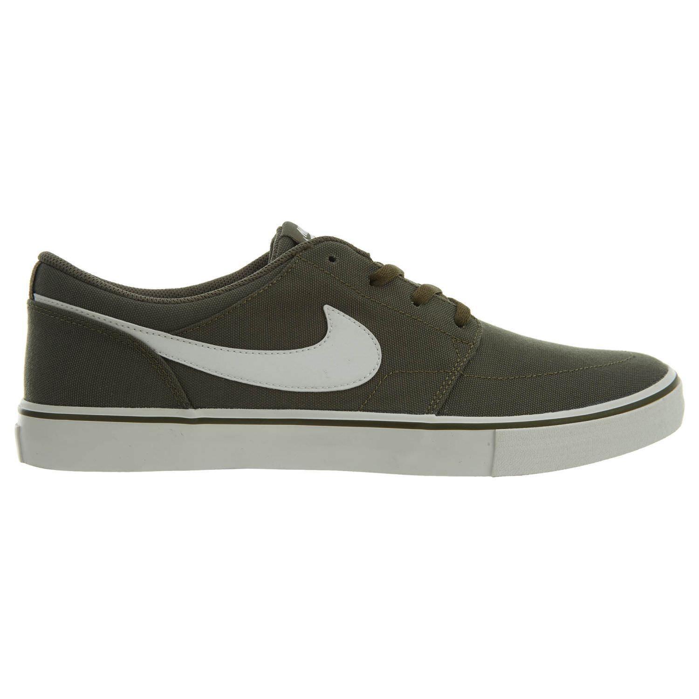 Nike SB Portmore 880268-200 II Solar Canvas Mens 880268-200 Portmore Olive Skate Shoes Size 11 554322