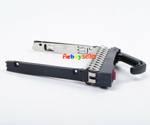 "HP 500223-001 2.5/"" SAS SATA SSD HARD DRIVE TRAY SCREWS  MSA50 MSA70 G7//G5//G6"