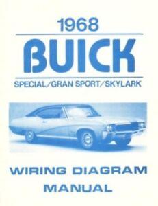 details about buick 1968 special, gran sport & skylark wiring diagram '69 mercury milan wiring diagram diagram car dodge charger wiring buick riviera #14