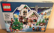 Lego Creator 10199 Winter Toy Shop Retired Set New & Sealed