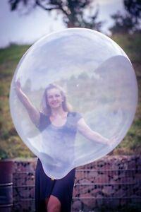 1-x-Sempertex-36-034-Riesen-Luftballon-kristall-klar-giant-balloon-crystal-clear