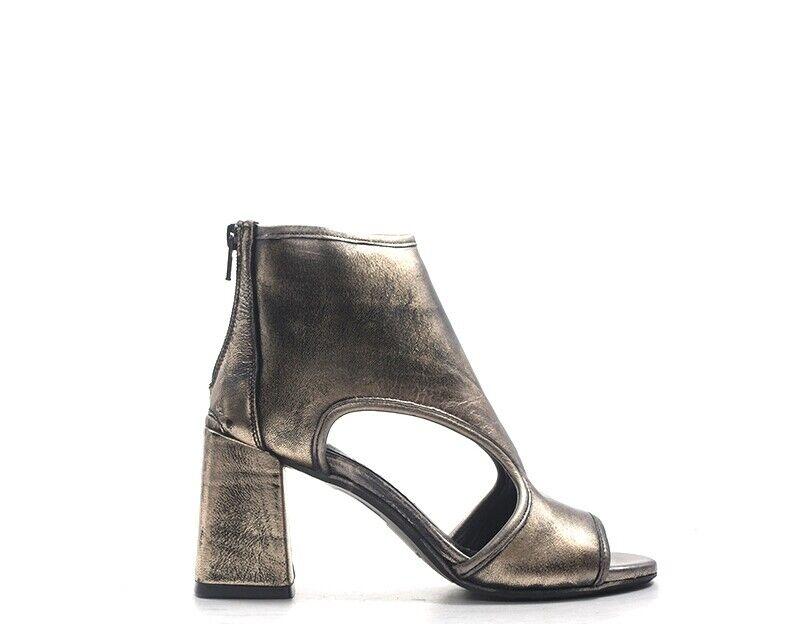 shoes mezzetinte woman brown Natural Leather L34R-B