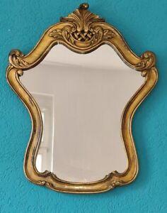 Spiegel Wandspiegel Flur Bad Blau Gold Antik Stil Holz Catanzaro 3,9 NEU