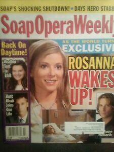 SOAP OPERA WEEKLY'S MAGAZINES AUGUST 2007 ALL THE DAYTIME DRAMA  SOAP MAGAZINES