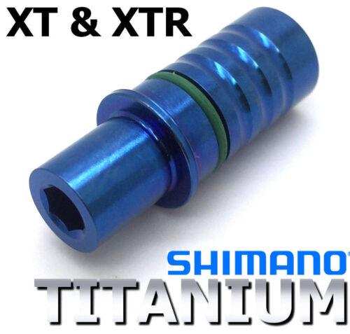 1 P-axle in Titanium for derailleur XT /& XTR 43/% lighter! SHIMANO