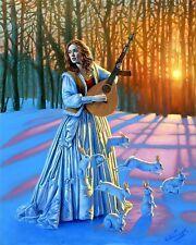 HD Canvas Print home decor wall art painting,michael cheval-135 16x20inch