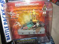 Star Wars Micromachines Battle Pack 8 Desert Palace 1996 Nisb