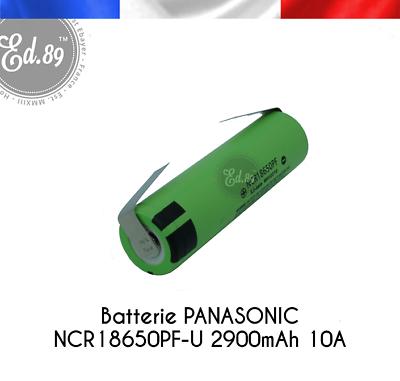 Panasonic NCR18650-PF 3,6V//3,7V 2900mAh 10A Li-Ion Akku mit U-Lötfahne