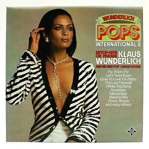 Klaus-Wunderlich-Pops-International-2-12-034-Vinyl-LP-1976-SKL-R-5251-FREE-UK-P-amp-P