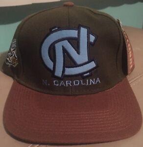 Vintage 80 s North Carolina UNC Tar Heels Snapback Hat The Natural ... 486590c05a5