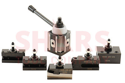 Out of stock 90 days BXA Piston Type Quick Change Tool Post 6PCS Include 201XL 2