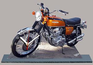 MOTO-HONDA-750-FOUR-Reloj-en-modela-miniatura-05