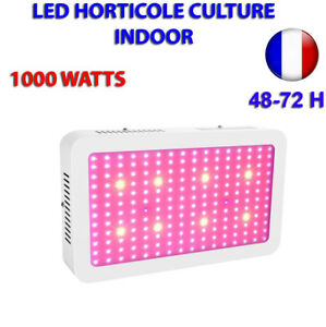Lampe Led Horticole Culture Interieur Indoor 1000w A Led 10 W Haute