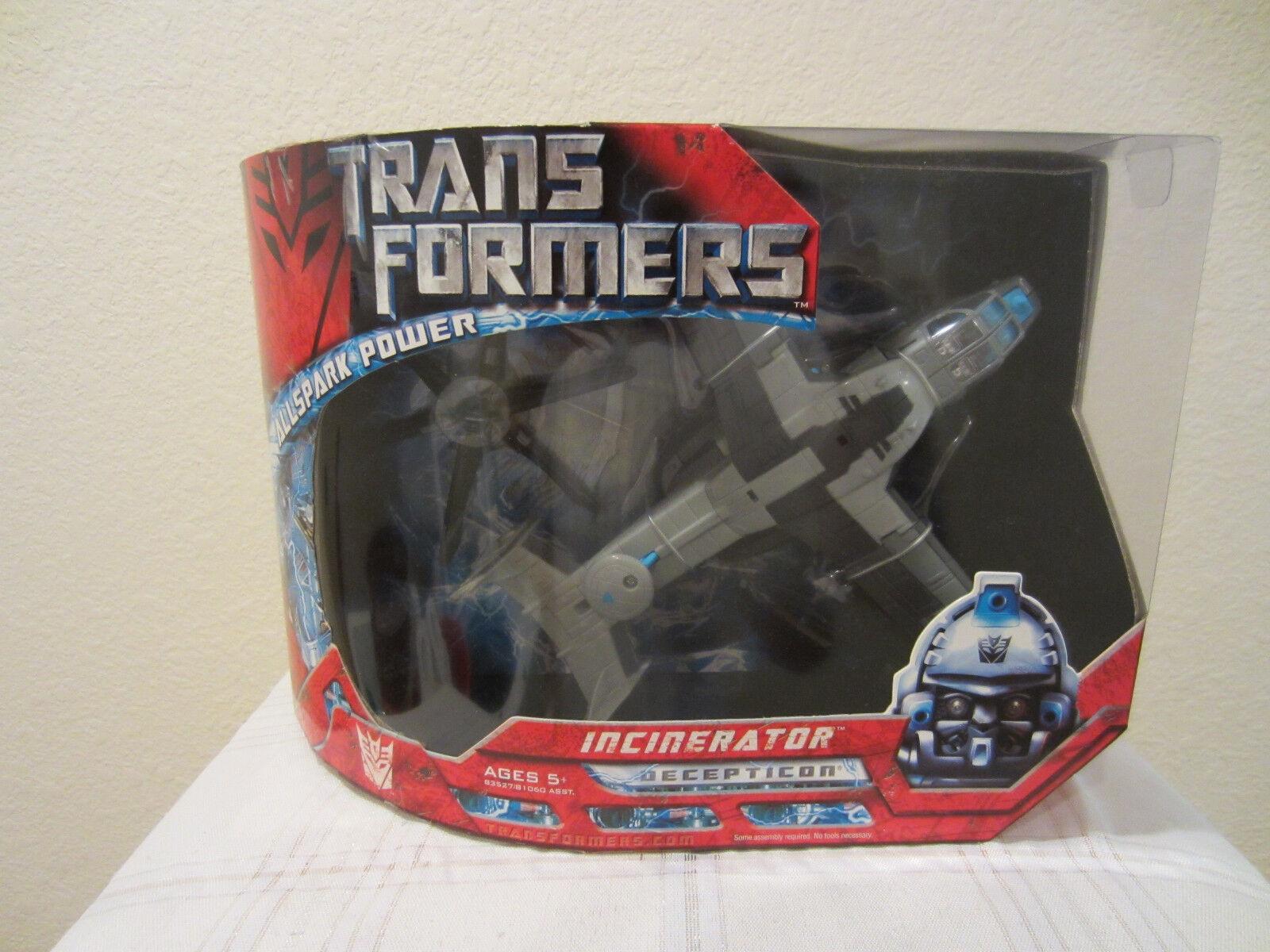 Transformers Hasbro 2007 Movie one Voyager Class Decepticon Incinerator MISB