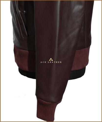 da uomo Giacca in Analine pelle di classico stile vacchetta classico chiaro marrone uomo da ZqFW76nFw