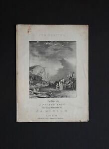 Nathaniel-Currier-Lithograph-Sheet-Music-Cover-034-The-Parting-034-Artist-W-K-Hewitt
