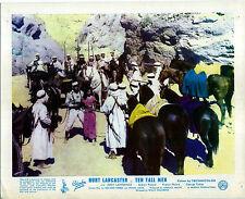 TEN TALL MEN 1951 Burt Lancaster, Jody Lawrance Gilbert Roland UK 10x8 LOBBY SET