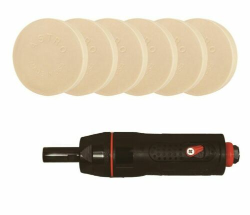 Astro Pneumatic 500ARS6 ONYX Adhesive Removal System w// 6 Rapid Eraser® Pads