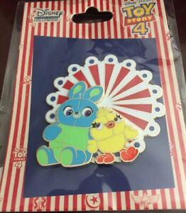 Disney-Pixar-Toy-Story-4-Duck-Bunny-Surprise-LE-150-Pin-DSF-DSSH-Ferris-Wheel