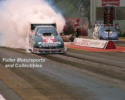 CHUCK ETCHELLS DODGE NHRA FUNNY CAR 1996 8X10 PHOTO PONTIAC EXCITEMENT NATIONALS