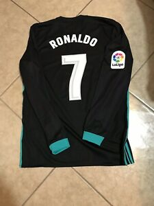 new product a853e 3dbf9 Details about Real Madrid Ronaldo Portugal Juventus Player Issue Shirt  Adizero Football Jersey