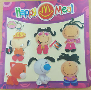 McDonalds-Happy-Meal-Toy-2002-Bubblegum-Bubble-Gum-Plush-Soft-Toys-Various