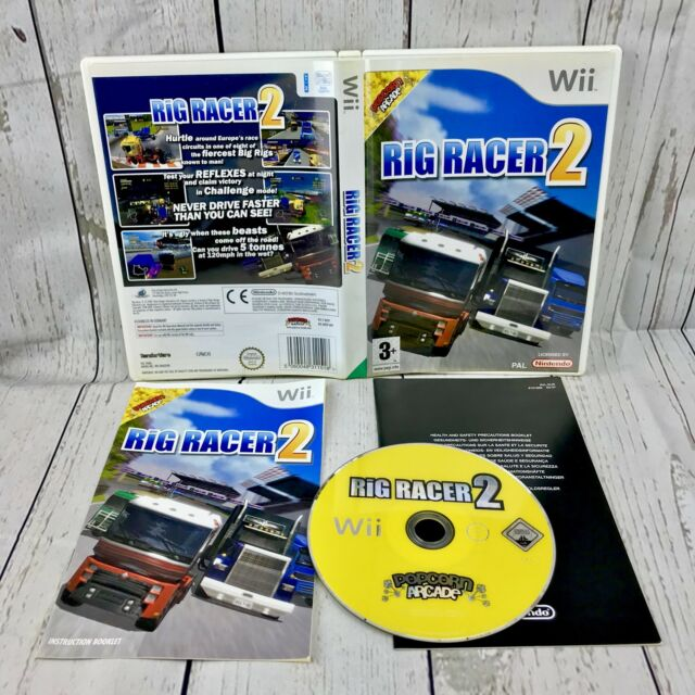 Rig Racer 2 Nintendo Wii PAL Wii U Complete Game Perfect Condition Free P&P 👀