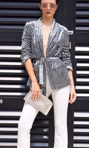 Taille Veste 10 Zara Uk V Blazer Courant Velvet M qfxw0ZwI5