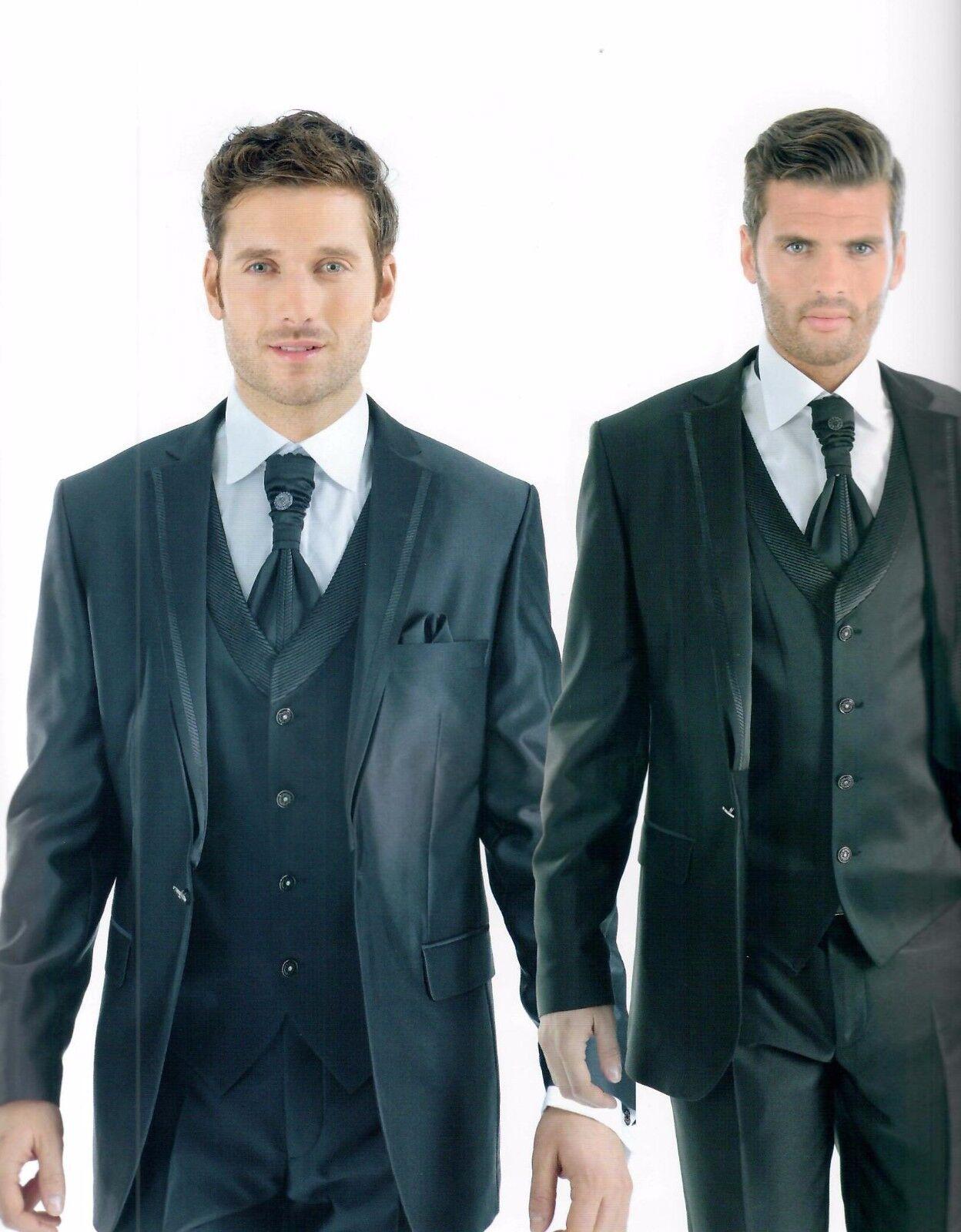 Herrenanzug Hochzeitsanzug Herren Bräutigam Hochzeit SlimFit 9 teiler blau Gr.50