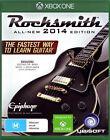 Rocksmith - 2014 Edition (Xbox One, 2014)