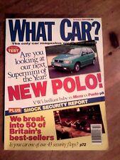 WHAT CAR? MAGAZINE OCT-1994 - Fiesta RS 1800, Clio RSi, Citroen XM, Corsa GSi