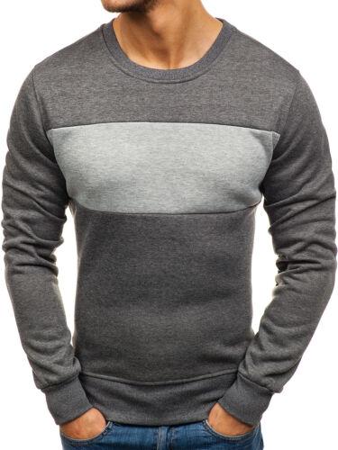 Sweatshirt Pulli Langarmshirt Print Pullover Rundhals Herren BOLF 1A1 Motiv