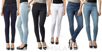 Jordache Women's Pull-On Denim Jegging Jeans stretch Denim Skinny Leg
