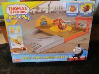 Thomas & Friends Train Set Salty's Flip Switch Tracks Portable Railway Take