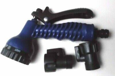 Magic Hose Garten-brause Wasser-spritze Für Flexibler Wasserschlauch Blau Neu Dauerhafter Service