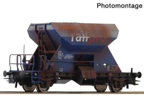 Roco 75963 Güterwagen Schotterwagen gealtert Railpro H0
