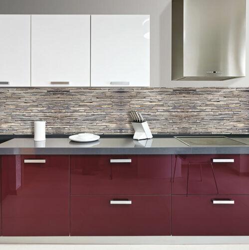 Paraschizzi Cucina XL Stones Protezione ignifuga e lavabile facile da applicare