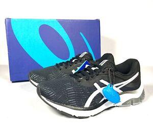 Asics-Gel-Pulse-11-Femme-Noir-Leger-Chaussures-De-Course-Baskets-UK-5-5-New
