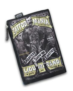 Image is loading Liquor-Brand-Tattoo-Mania-Circus-Punk-Goth-Makeup-